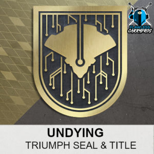 Undying Triumph Seal & Title Destiny 2 Shadowkeep FlawlessCarryPros
