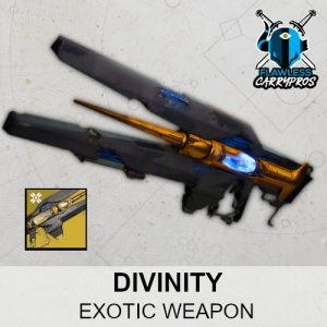 Divinity Carry Boost Services Key To Divinity Exotic Trace Rifle Destiny 2 FlawlessCarryPros
