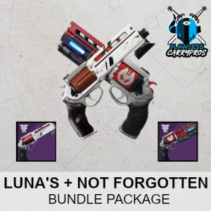 Luna's Howl Not Forgotten Carry Recovery Destiny 2 Boosting Services Legendary Pinnacle Hand Cannon FlawlessCarryPros