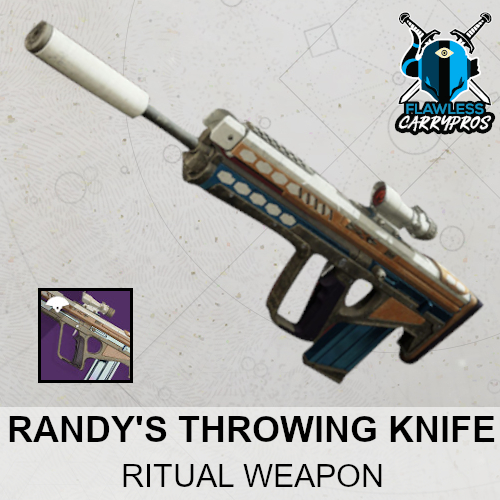Randy's Throwing Knife Carry Boost Service