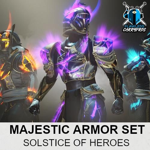 Solstice Of Heroes Majestic Armor Set Upgrade Destiny 2 Boosting Services FlawlessCarryPros