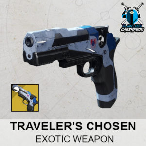 Traveler's Chosen Exotic Sidearm Weapon Destiny 2 Boosting Services FlawlessCarryPros